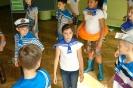 Zabawa z L.Teligą prowadzona przez klasę 3b